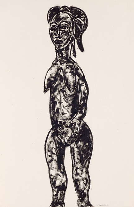 Young African female, 1995, Collection of the artist, contact Niagara Galleries