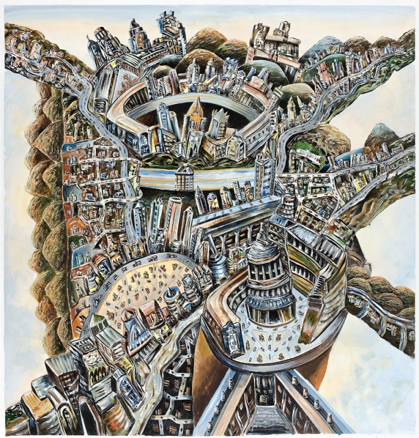 Paolozzi's city, 2010, TarraWarra Museum of Art