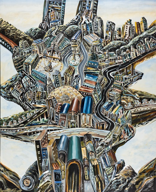 The elated city, 2009, Collection of the artist, contact Niagara Galleries