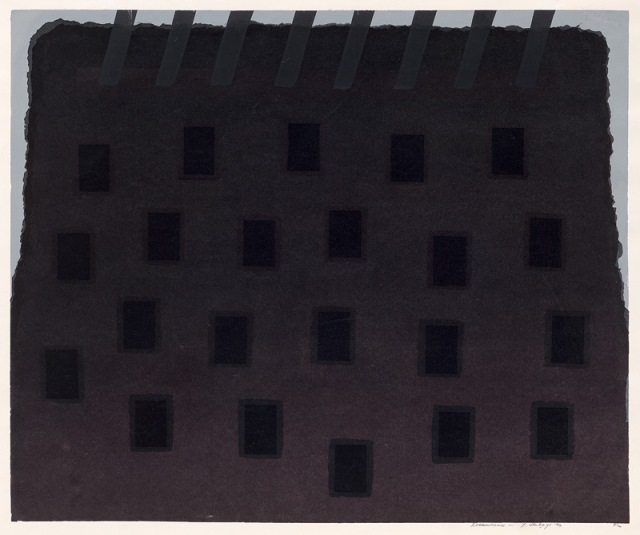 Dream home, 1969, screenprint