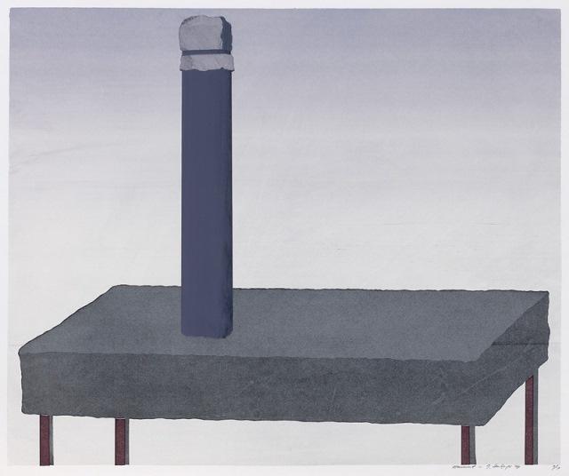 Monument, 1969, screenprint