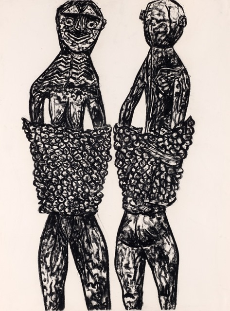 New Guinea sheilas, 1993, Collection of the artist, contact Niagara Galleries