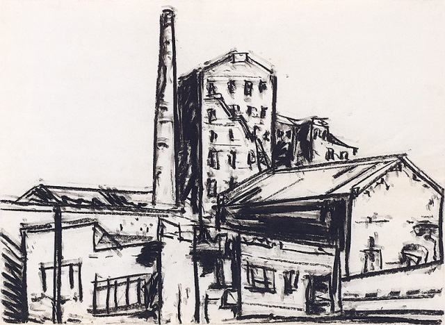 Sugar factory, 1980, Collection of the artist, contact Niagara Galleries