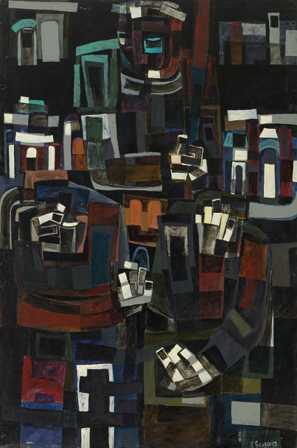 The whipper, 1961, Collection of the artist, contact Niagara Galleries