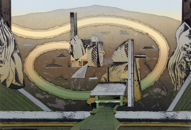 A vision for builders, 1975, screenprint